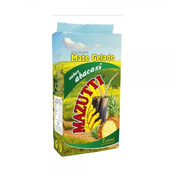 erva mate mazutti terere sabor abacaxi 500g