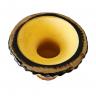 cuia de chimarrao porongo revestida em couro marrom 2