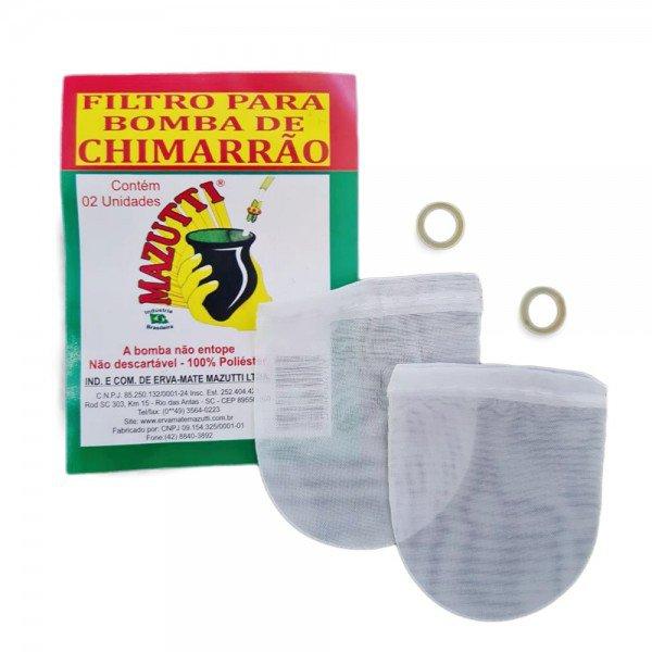 filtro para bomba de chimarrao mazutti com 2 und 2